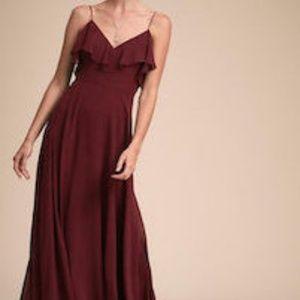 BHLDN Jenny Yoo Mila Dress in Hibiscus